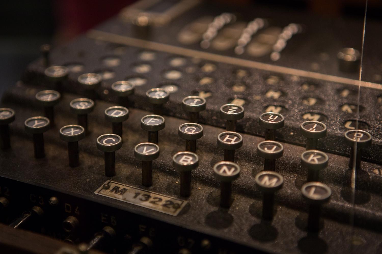 ENIGMA keyboard